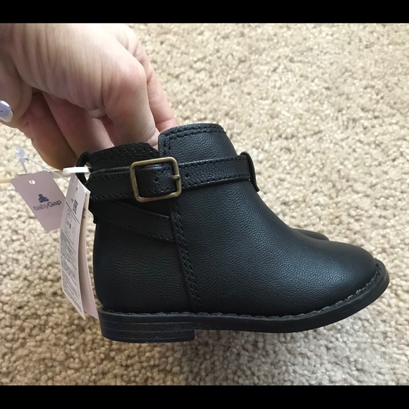 GAP Shoes | Gap Baby Girl Leather Ankle